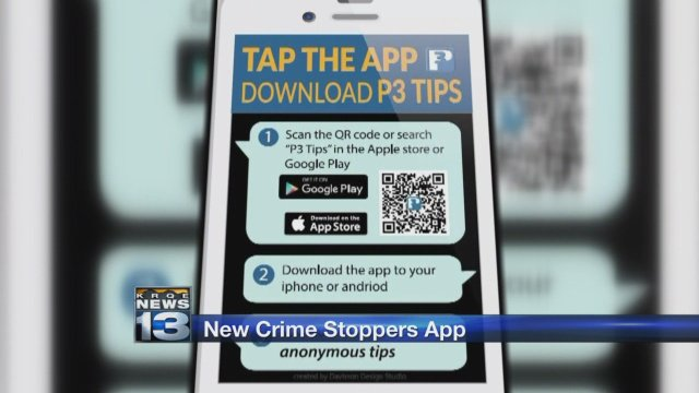 Crime Stoppers offers P3 mobile app to submit anonymous tips