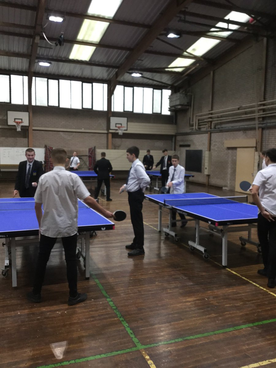 test Twitter Media - Great to see so many Y11 GCSE PE pupils improving their grades in table tennis at dinner today #topspin #dedication https://t.co/suCdB3Lt68