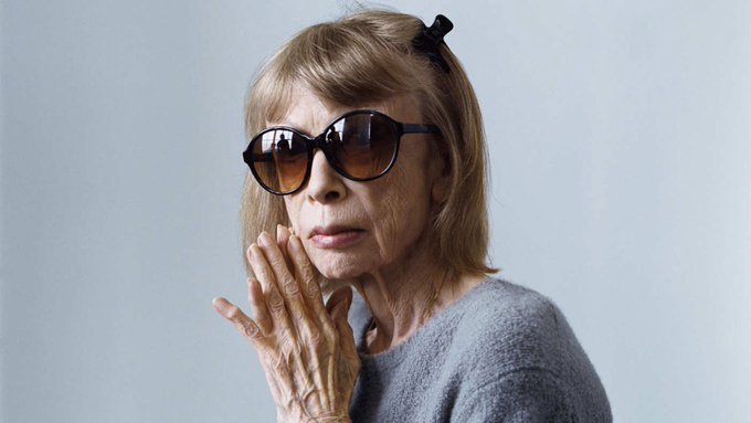 Happy birthday to one of our favorite writers, Joan Didion.