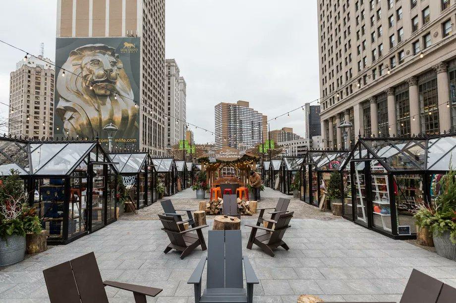 detroit #Downtown #Detroit Markets pop...