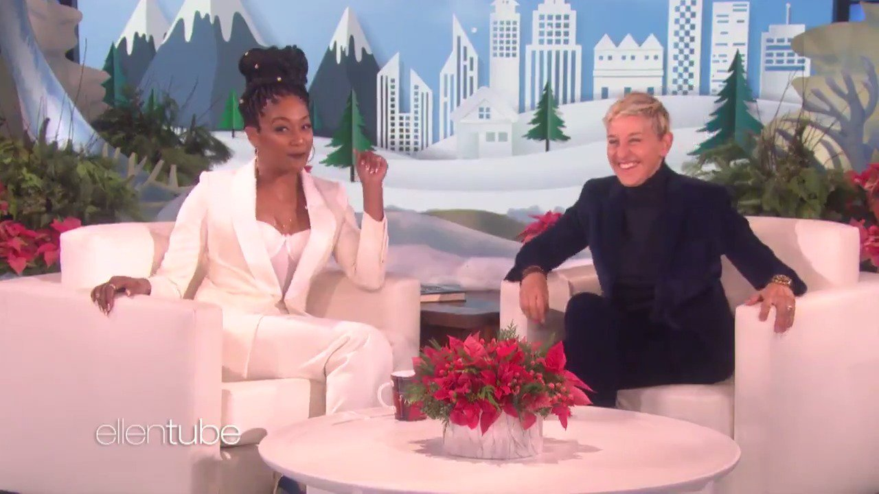 I love @TiffanyHaddish and her joyful greens. https://t.co/qIG1ADPRQD