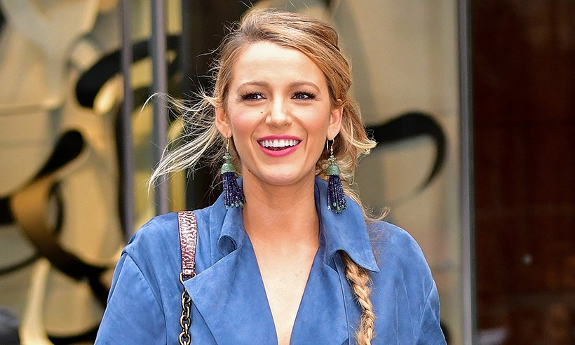 WOW! We totally didn't recognise Blake Lively with her dark brown pixie crop...