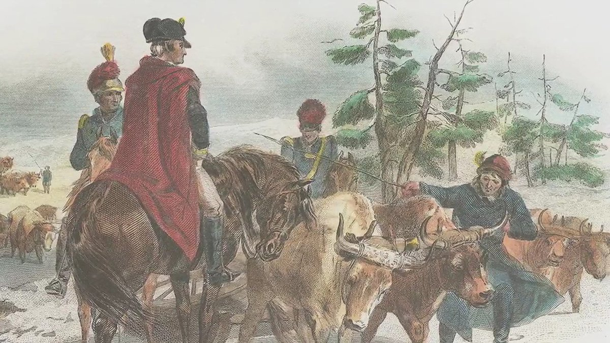 #OnThisDay in 1775, we had a plan to turn stolen British guns back on the redcoats & break the Siege of Boston. The only problem? They were 300 miles away, at Fort Ticonderoga. Watch the incredible story: https://t.co/a1kwLVKeE6