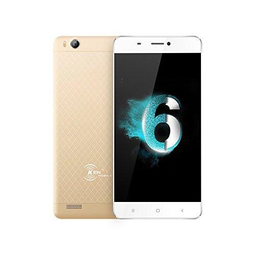 KEN XIN DA V6 Unlocked 3G Smartphone Dual SIM 4.5 Inch Android 6.0 8GB+1GB...