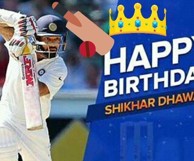 Happy Birthday Shikhar Dhawan