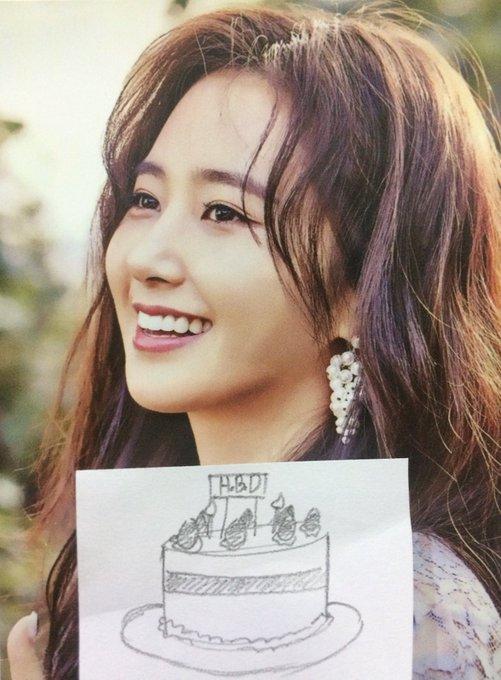 Happy birthday to my princess kwon yuri