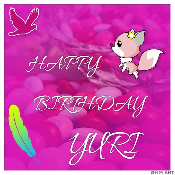 HAPPY BIRTHDAY KWON YURI OUR BLACKPEARL PRINCESS...