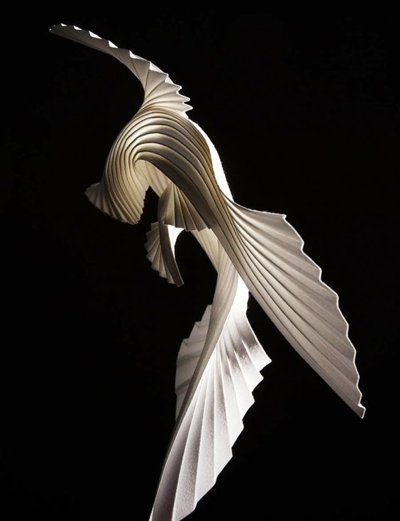 The fluid and dynamic paper scultures of Richard Sweeney https://t.co/ZuL0Rv5dtq https://t.co/fzue8xCDuv