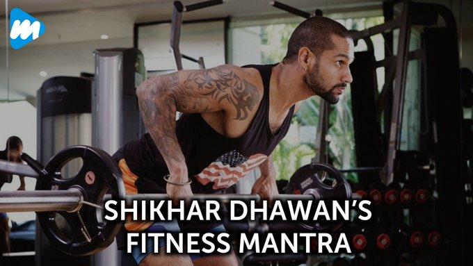 Shikhar Dhawan s Fitness Mantra!! Happy Birthday<3