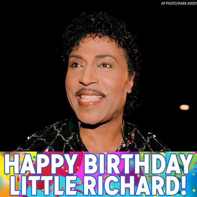 Wop-bop-a-loo-mop alop-bom-bom! Wishing Little Richard a Happy Birthday!