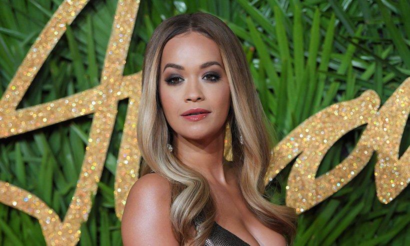 Rita Ora stuns at last night's fashion awards!