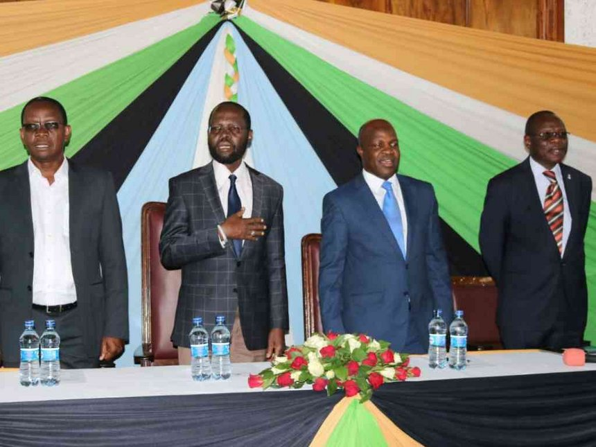 Kisumu swears-in nine executives after one gets another job