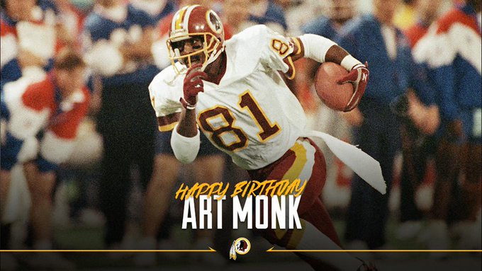 Wishing a happy birthday to legend & WR Art Monk.