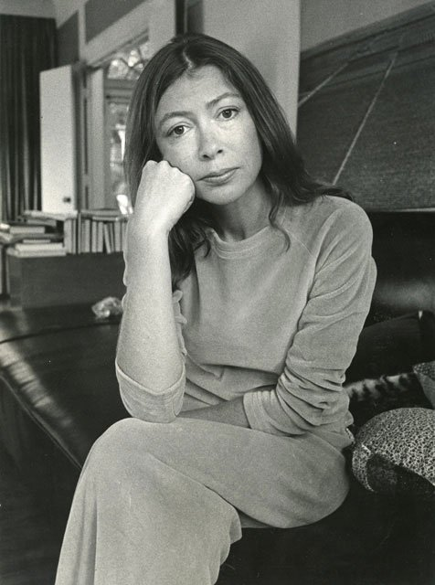 """To write with style is to fight lying all the way.\""""  Happy birthday, Joan Didion...."""