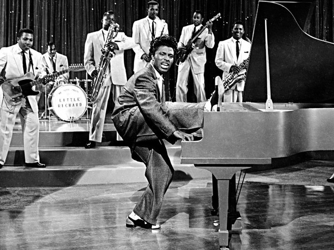 Happy Birthday to the original wild child, Little Richard! Happy 85th!