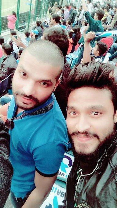 Happy birthday, Shikhar Dhawan          Chak de fatte, Gabbar! Have a great day bro