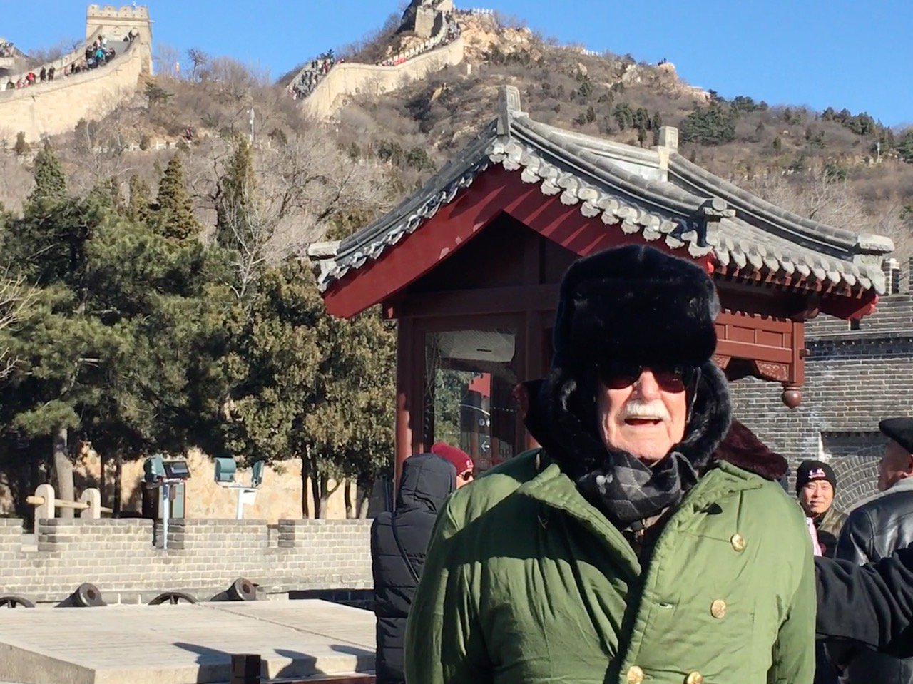 Greetings from China's Great Wall! (In person it actually is pretty good, to say the least... 'Nuff Said!) https://t.co/o0YjnYtPtC