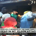 7 people killed in Mount Elgon attack