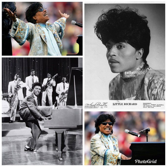 Happy 85th Birthday to the originator, the architect of Rock & Roll, the legend Little Richard!!