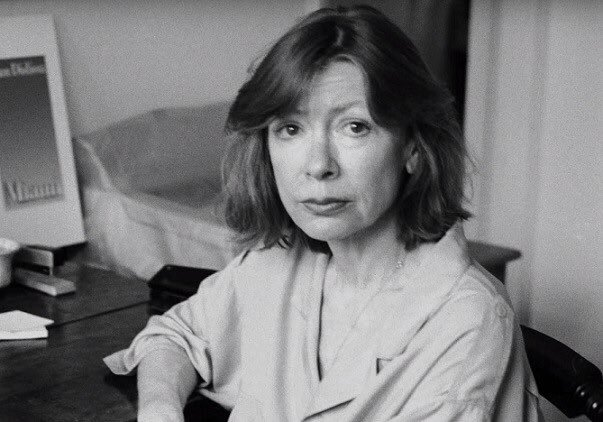 Happy birthday to Joan Didion, one of my greatest inspirations.