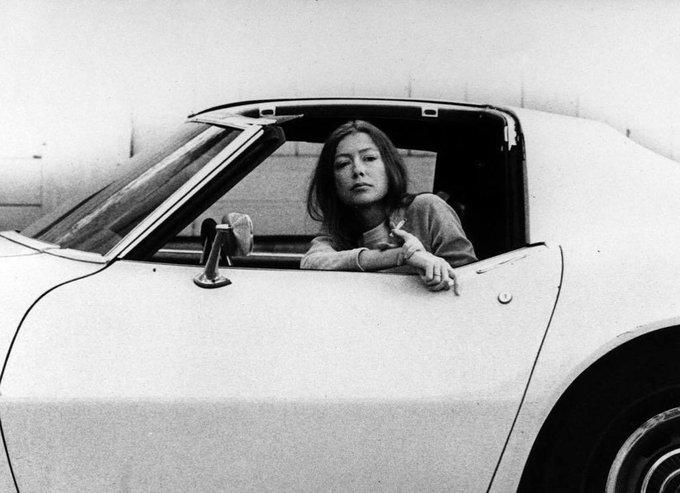 Happy Birthday Joan Didion.