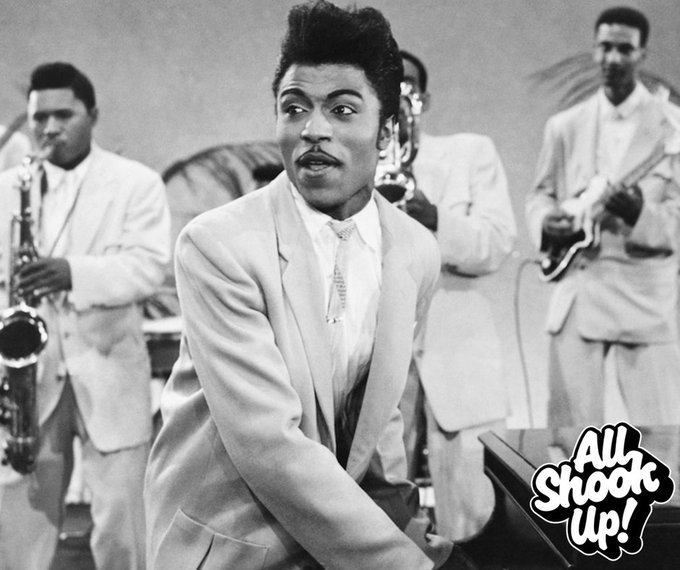 Happy Birthday to Little Richard, 85 years young today!