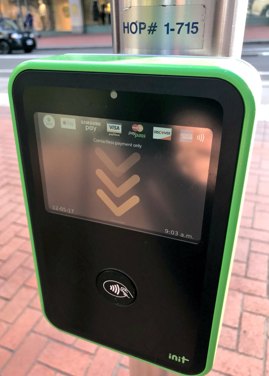test Twitter Media - Integrated e-ticketing with NFC payments at work in Portland, OR @trimet https://t.co/Xn9ivxSL5z