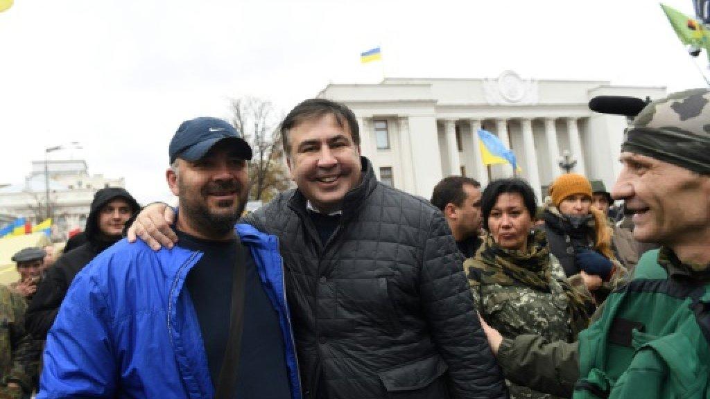 Georgian ex-leader Saakashvili arrested in Ukraine