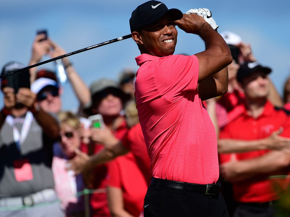 Future's bright: Strong Tiger Woods a good starting point