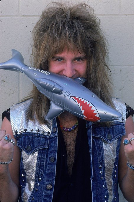 On This Day - Dec. 5th 1960. Original Great White vocalist, Jack Russell, is born! Happy Birthday