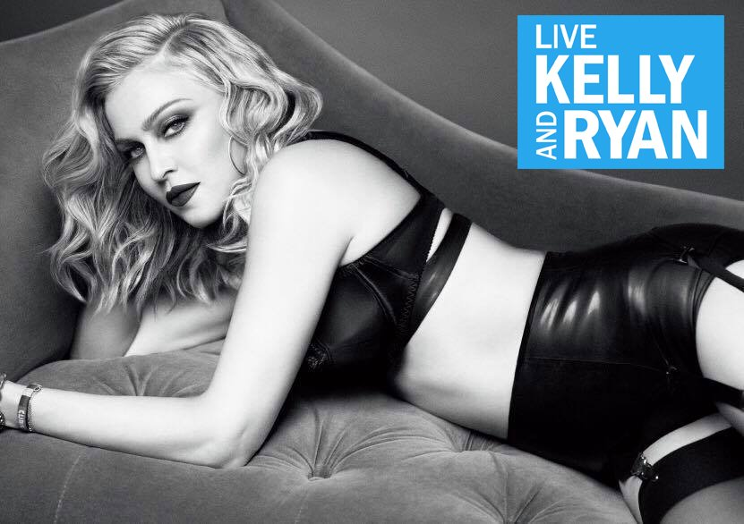 Madonna to attend @LiveKellyRyan on Friday, December 8th! https://t.co/uxtdxkCwBs https://t.co/LaLuG3R4v4