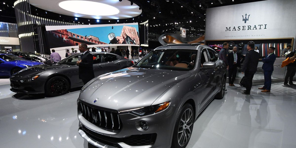 More SUVs coming from Maserati?