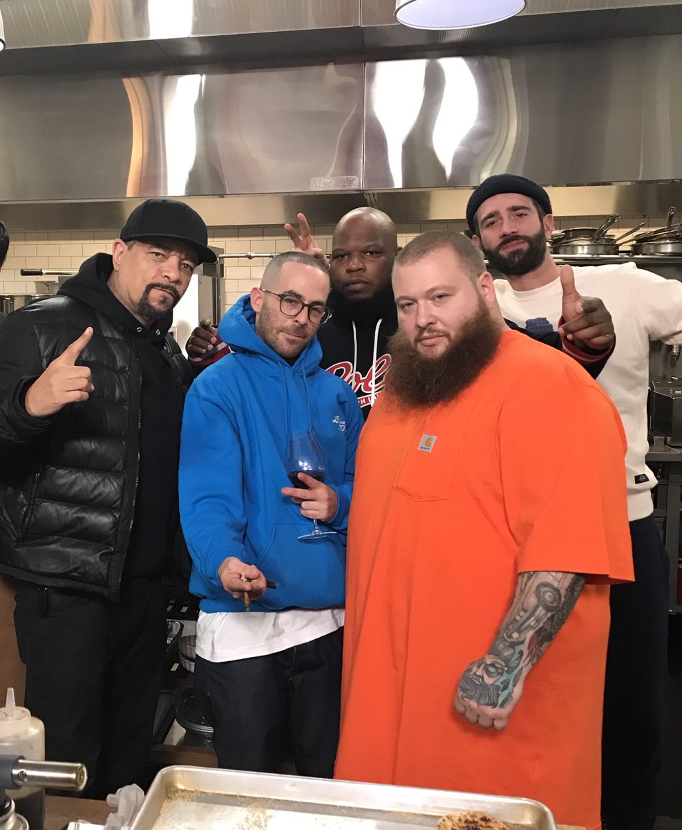 RT @FINALLEVEL: Just finished filming @BronsonShow with @ActionBronson & @Alchemist for @VICE TV CRAZY!! https://t.co/rU7tFSHNYx