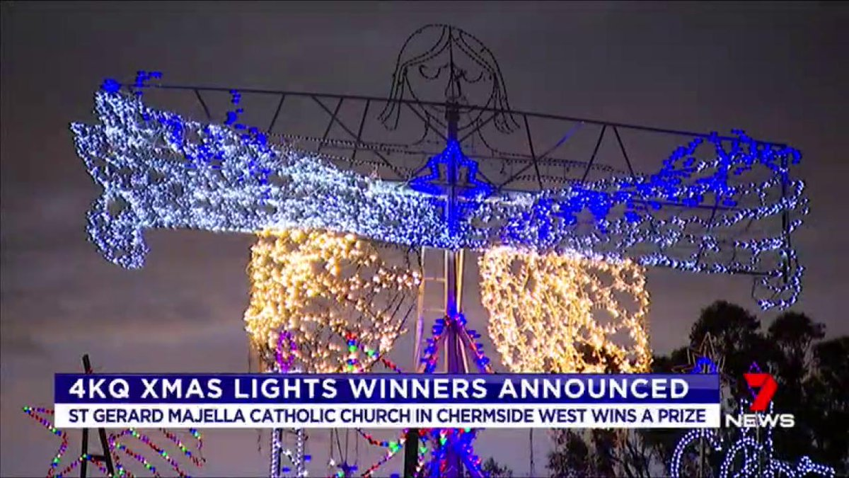 First winner announced for the 4kq christmas lights competition: st ...