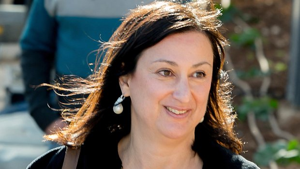 Maltese court charges 3 with murder of journalist, 7 on bail