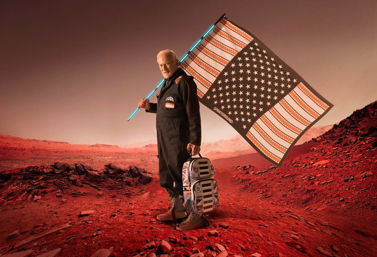 Buzz Aldrin Launches 'Mission to Mars' Fashion Line with Sprayground