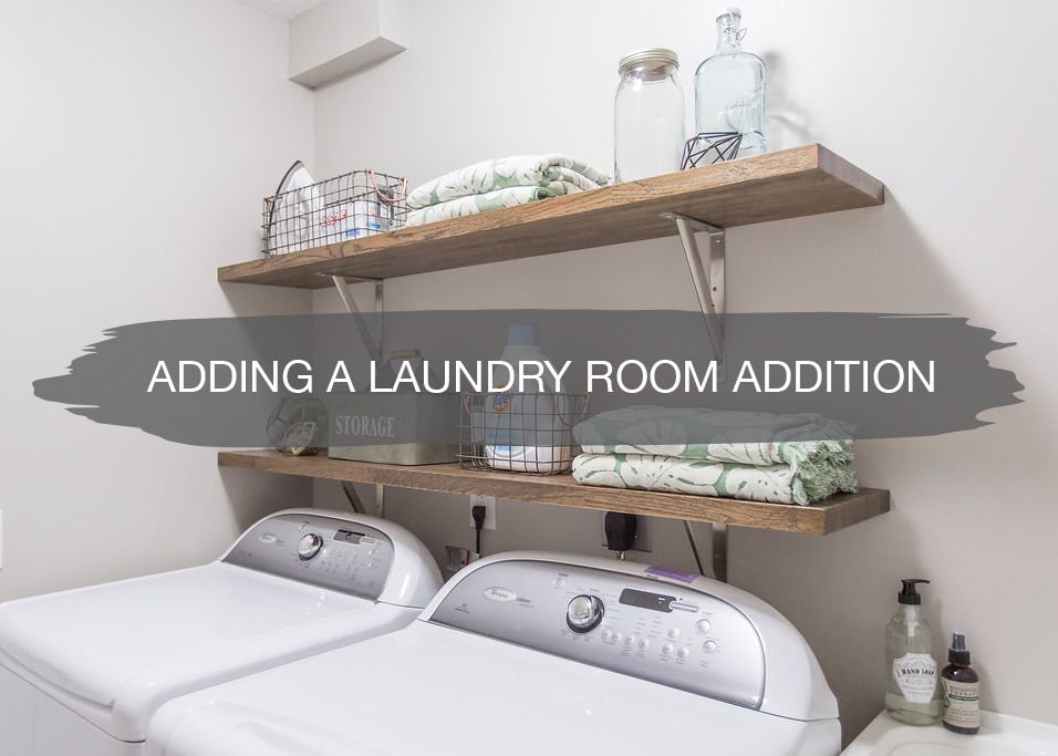 Sharing some fun little styling ideas for your laundry room on the blog.  https://t.co/e9LoK5W7Jz https://t.co/ZzqBqVpfPj