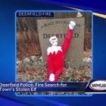 Deerfield officials search for town's stolen elf