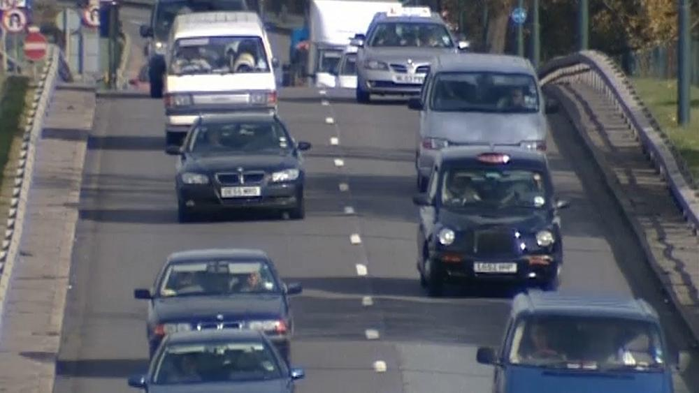 New car sales in Britain drop off