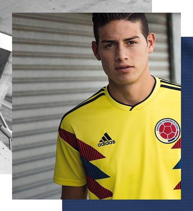 This is the #Colombia home jersey https://t.co/taKzwRDkrs