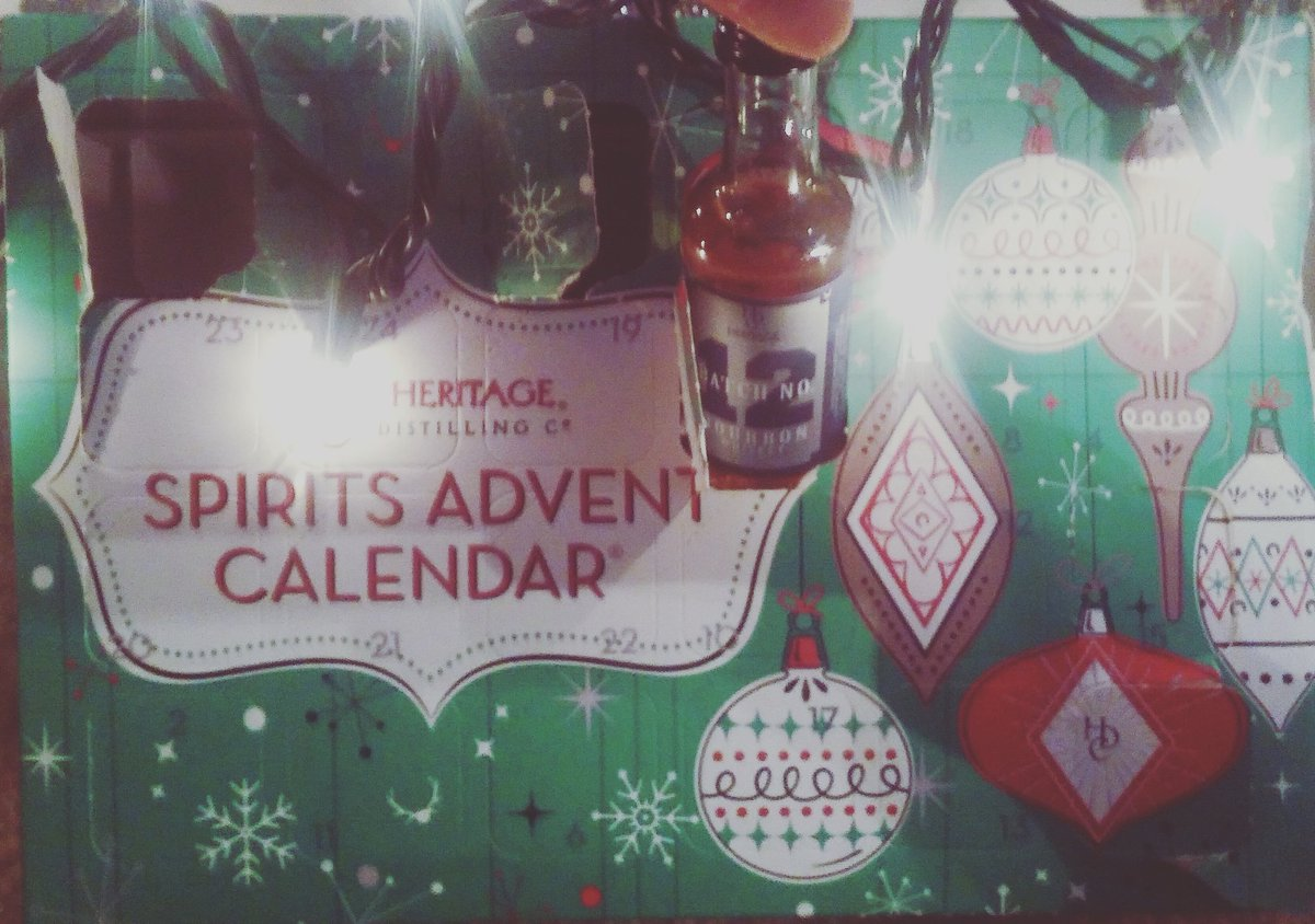 test Twitter Media - RT @Maura_Dool: I love this! Thanks @HeritageDistill for the grown up version of an advent calendar! #HappyHolidays https://t.co/Du1bpHcpHA