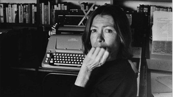 Happy Birthday, Joan Didion.