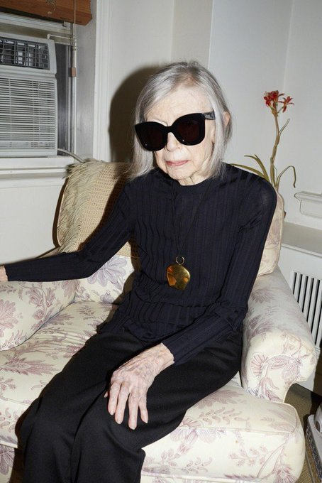 HAPPY BIRTHDAY JOAN DIDION  this woman is why I write.