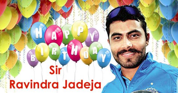 Happy birthday to Ravindra Jadeja