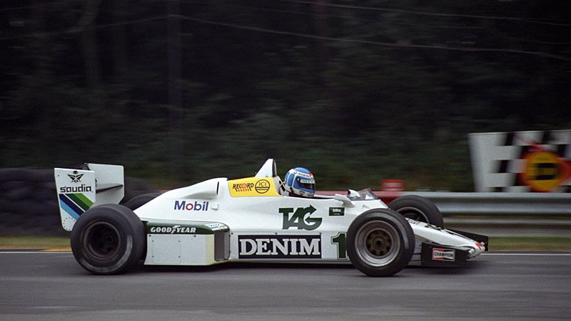 Happy Birthday Keke Rosberg - Williams FW08C, Brands Hatch 1983 (Photo: