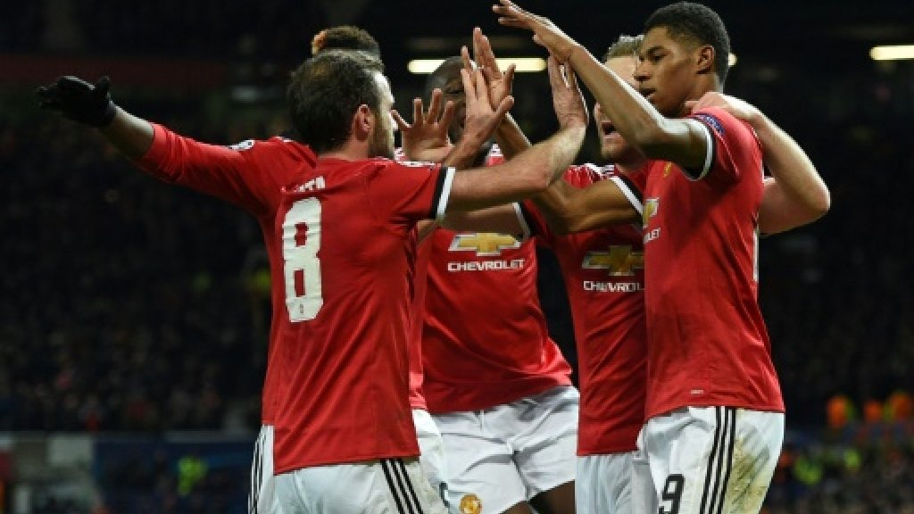 Manchester United secure Champions League passage as Bayern down PSG