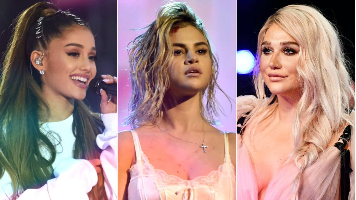 Against All Odds, Selena, Ariana, And Kesha Triumphed In 2017