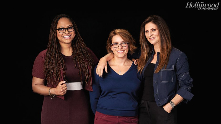 Disney's new $100M club of female directors pose for a group photo