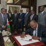 President signs into law County Allocation of Revenue Amendment Bill