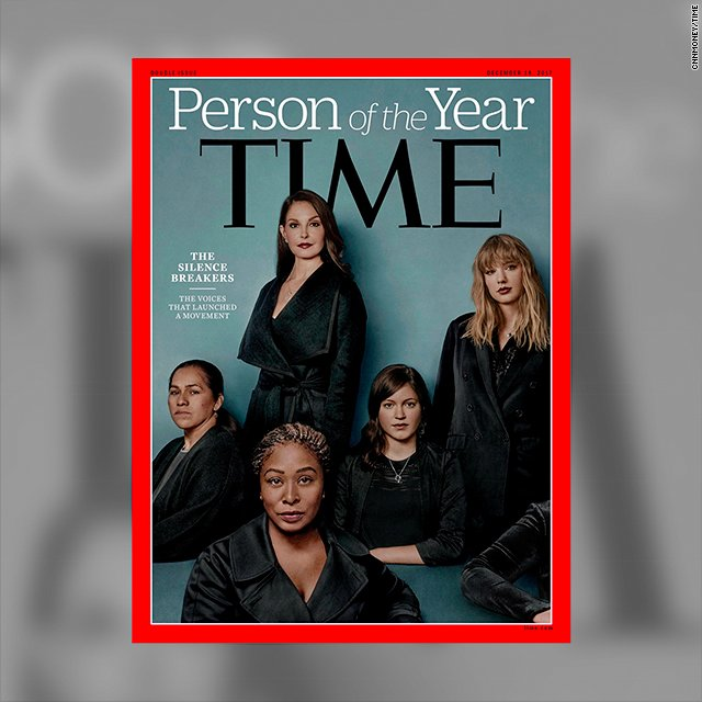 JUST IN: 'The Silence Breakers' are Time's Person of the Year https://t.co/SnimbI3Sl5 https://t.co/q9kCnd84IJ